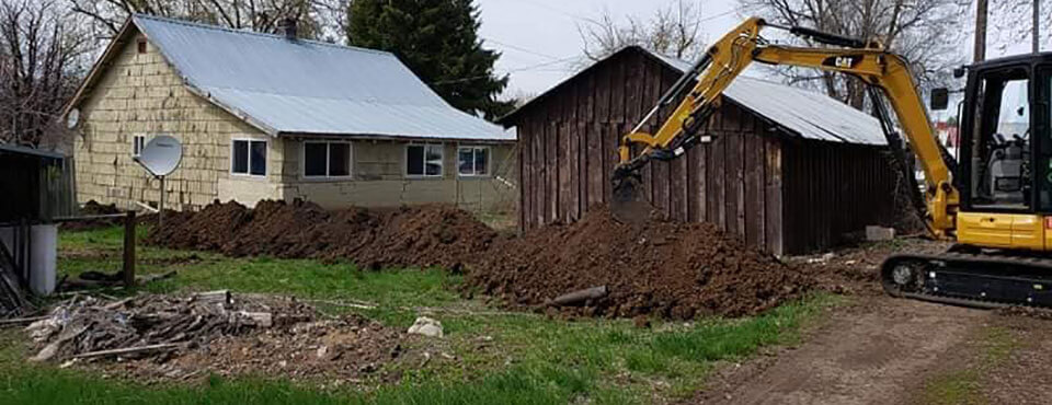 Excavation, Trenching & Sewer Line Replacement